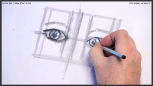 learn how to draw two eyes 011